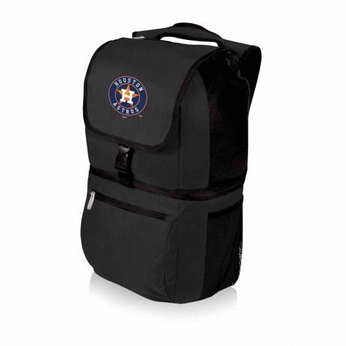 Houston Astros Black Zuma Cooler Backpack