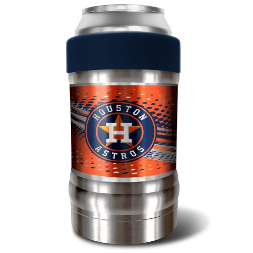 Houston Astros Blue 12 oz. Locker Vacuum Insulated Can Holder