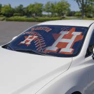 Houston Astros Car Sun Shade