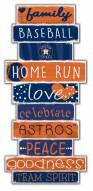 Houston Astros Celebrations Stack Sign
