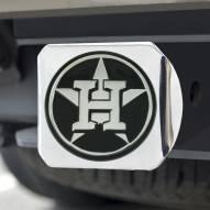 Houston Astros Chrome Metal Hitch Cover