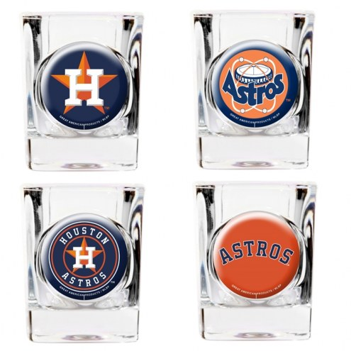 Houston Astros Collector's Shot Glass Set