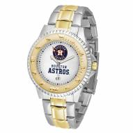 Houston Astros Competitor Two-Tone Men's Watch