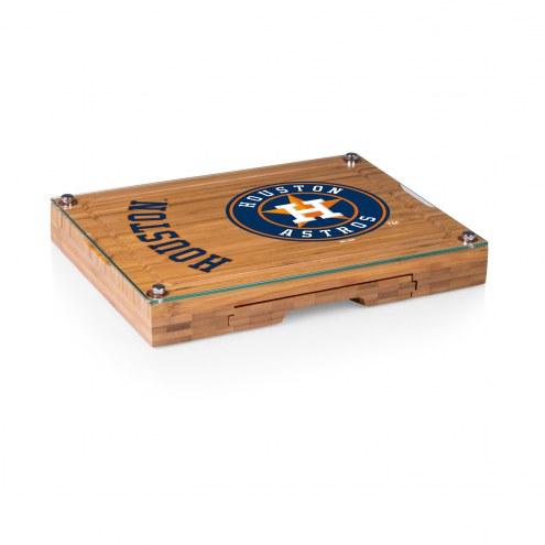 Houston Astros Concerto Bamboo Cutting Board
