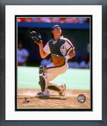 Houston Astros Craig Biggio 1989 Action Framed Photo