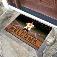 Houston Astros Crumb Rubber Door Mat