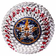 Houston Astros Swarovski Crystal Baseball