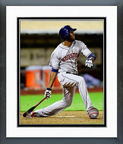 Houston Astros Dexter Fowler Action Framed Photo