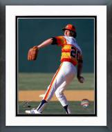 Houston Astros Don Sutton 1981 Action Framed Photo