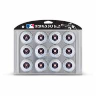 Houston Astros Dozen Golf Balls
