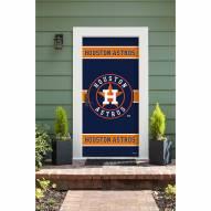 Houston Astros Front Door Cover