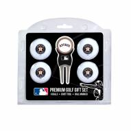 Houston Astros Golf Ball Gift Set
