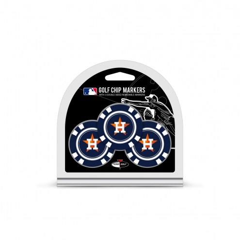 Houston Astros Golf Chip Ball Markers