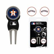 Houston Astros Golf Divot Tool Pack