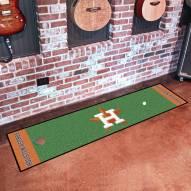 Houston Astros Golf Putting Green Mat