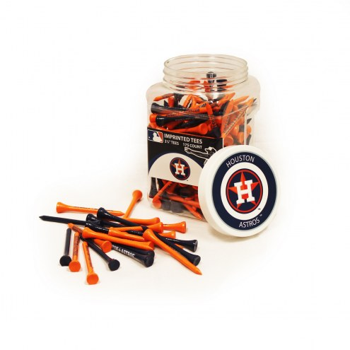 Houston Astros 175 Golf Tee Jar