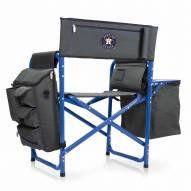 Houston Astros Gray/Blue Fusion Folding Chair