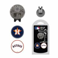 Houston Astros Hat Clip & Marker Set
