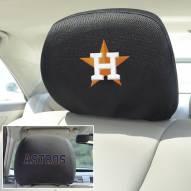 Houston Astros Headrest Covers