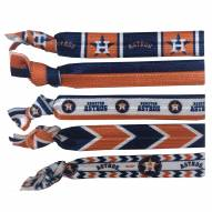 Houston Astros Knotted Hair Tie
