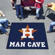 Houston Astros Man Cave Tailgate Mat