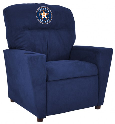 Houston Astros Microfiber Kid's Recliner