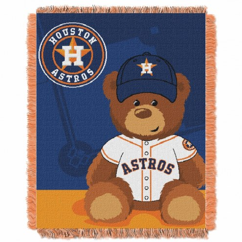 Houston Astros MLB Baby Blanket
