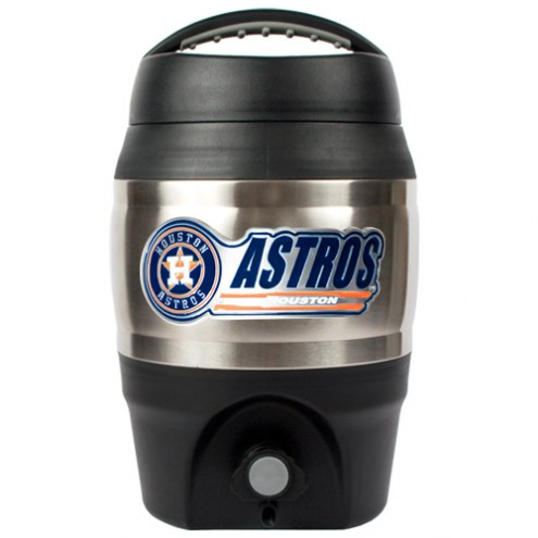 Houston Astros MLB Stainless Steel Gallon Tailgate Jug