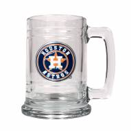 Houston Astros MLB 2-Piece Glass Tankard Beer Mug Set