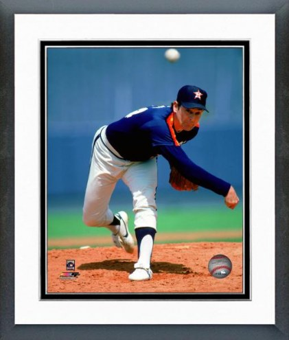 Houston Astros Nolan Ryan 1984 Action Framed Photo
