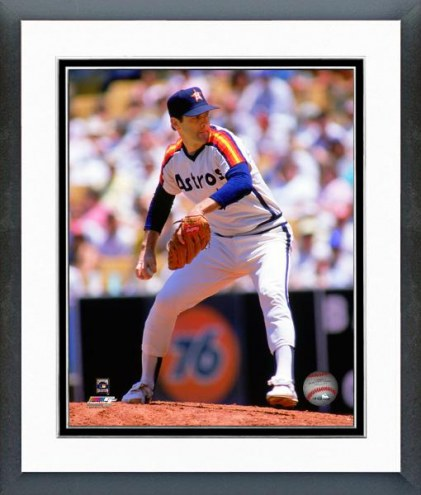Houston Astros Nolan Ryan 1986 Action Framed Photo