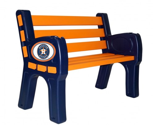 Houston Astros Park Bench