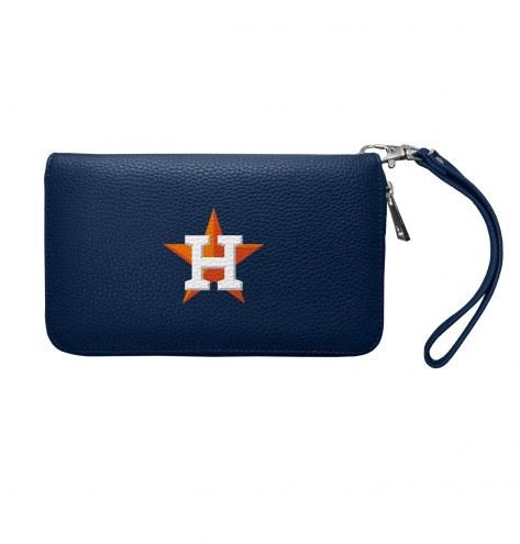 Houston Astros Pebble Organizer Wallet