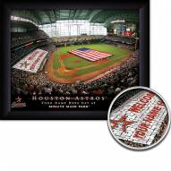 Houston Astros 11 x 14 Personalized Framed Stadium Print