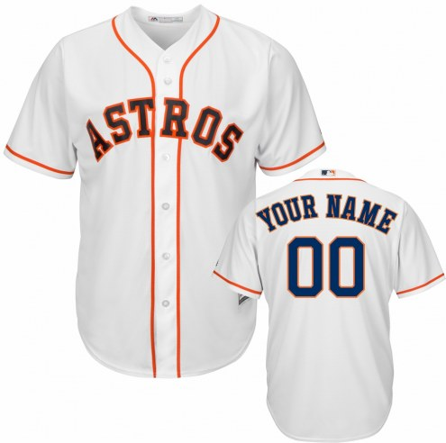 Houston Astros Personalized Replica Home Baseball Jersey