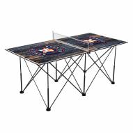 Houston Astros Pop Up 6' Ping Pong Table