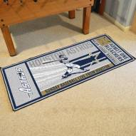 Houston Astros Ticket Runner Rug