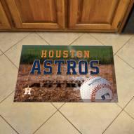 Houston Astros Scraper Door Mat
