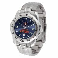 Houston Astros Sport Steel AnoChrome Men's Watch