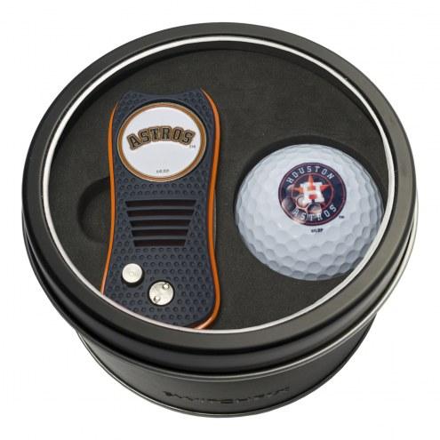 Houston Astros Switchfix Golf Divot Tool & Ball
