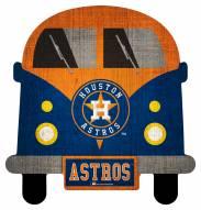 Houston Astros Team Bus Sign