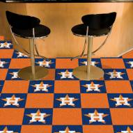 Houston Astros Team Carpet Tiles