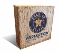 Houston Astros Team Logo Block
