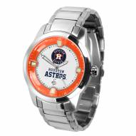 Houston Astros Titan Steel Men's Watch