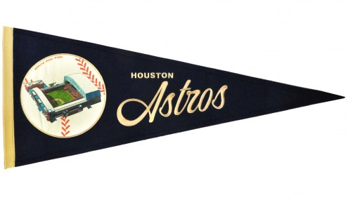 Houston Astros Vintage Ballpark Traditions Pennant