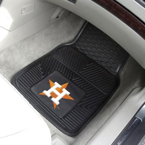 Houston Astros Vinyl 2-Piece Car Floor Mats