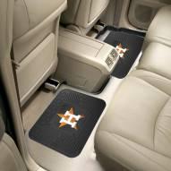 Houston Astros Vinyl 2-Piece Rear Floor Mats