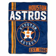Houston Astros Walk Off Throw Blanket