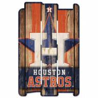 Houston Astros Wood Fence Sign