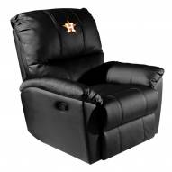 Houston Astros XZipit Rocker Recliner with Secondary Logo